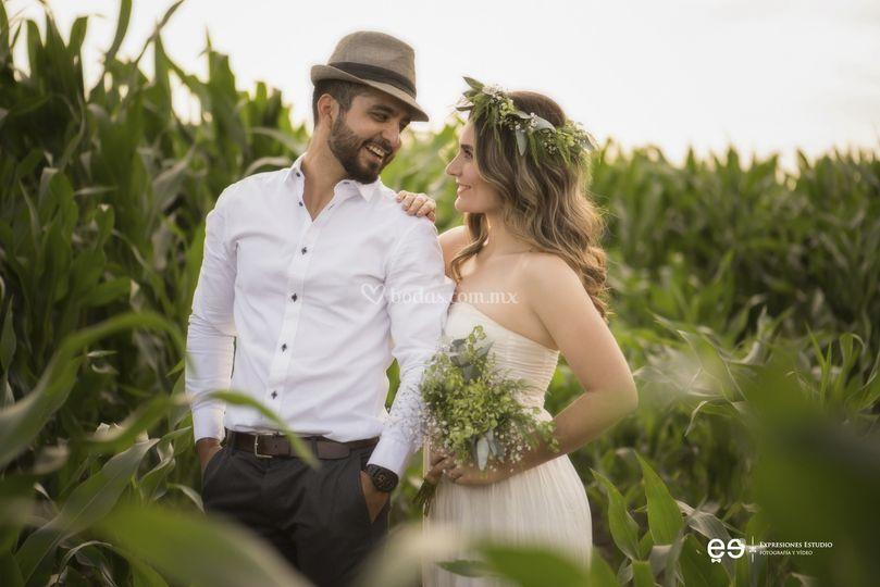 Karen y Alejandro