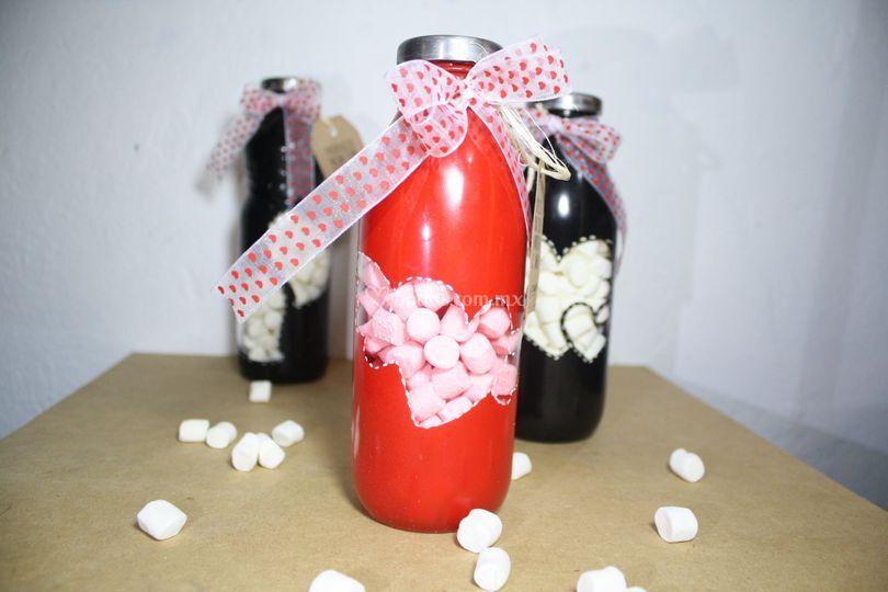 Souvenir botella