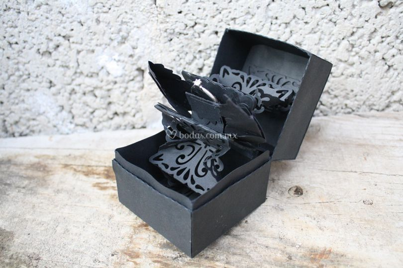 Caja anillo compromiso