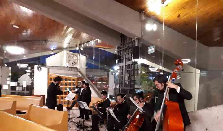 Coro y cuarteto