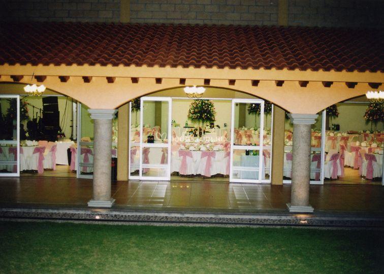 Vista salon d terraza