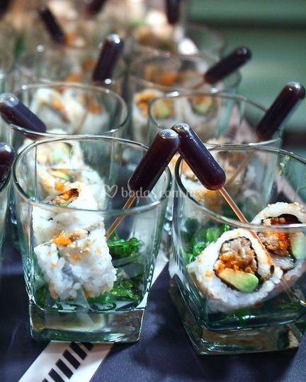 Sushi figer food