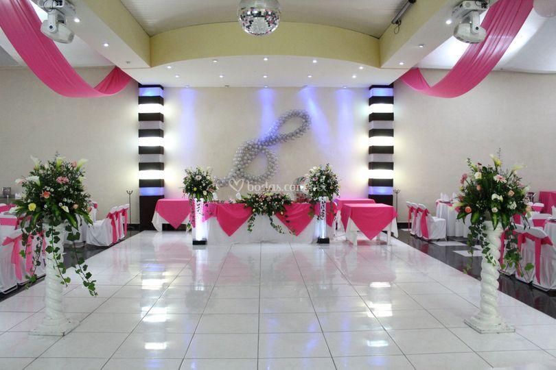 Salón  decoración