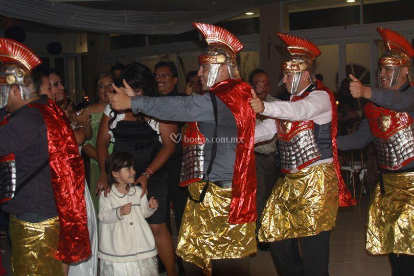 Guardias romanos