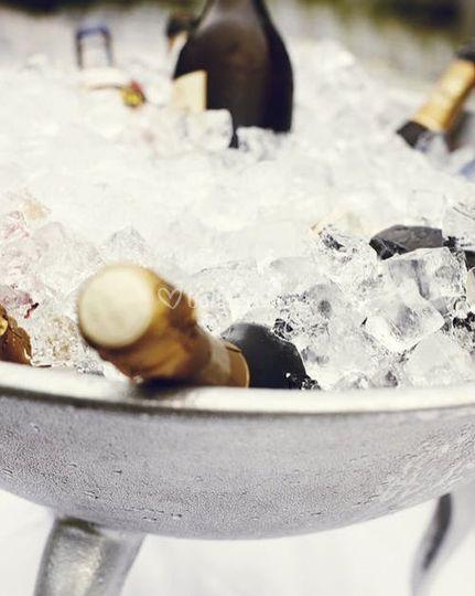 Refrescando bebidas
