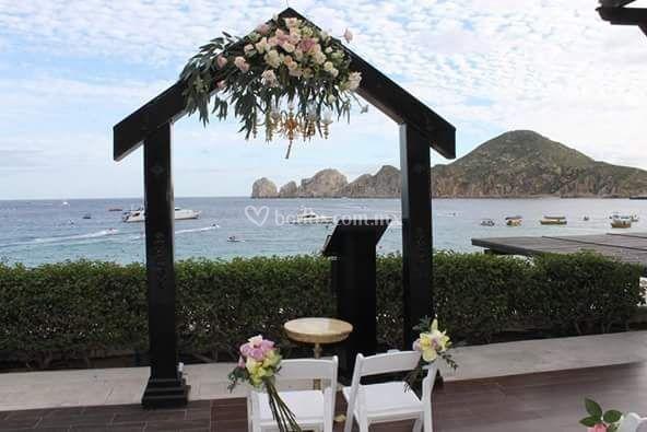 Arco de novia o hupa