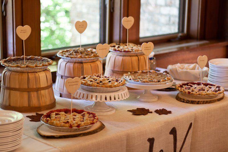 Lovely buffet