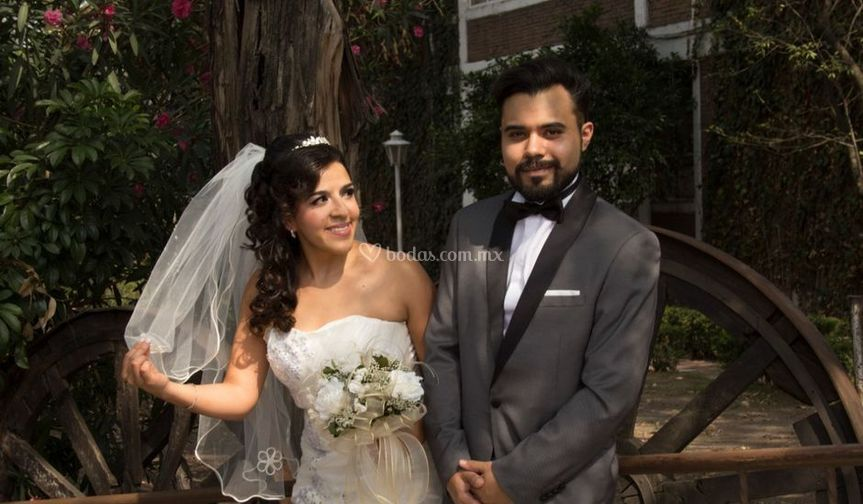 Evelyn y Javier boda
