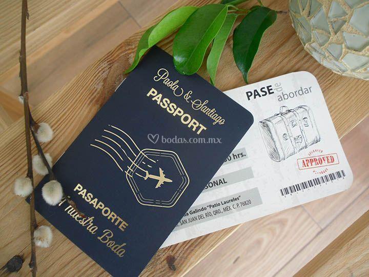 Pasaporte wedding