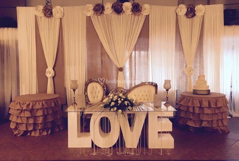 Selectus decoraciones for Decoracion de eventos vintage