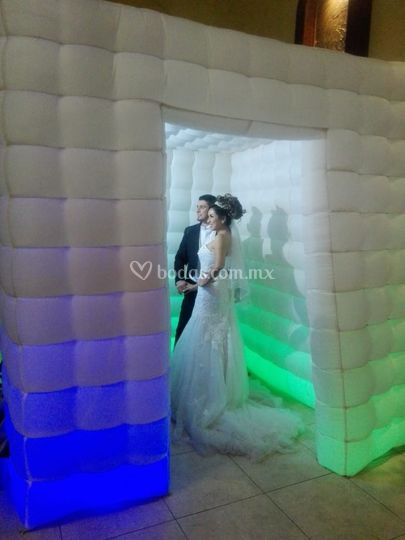 Cabina inflable boda