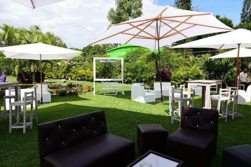 Espacios lounge de jard n real quinta b hos foto 67 for Jardin quinta real morelos