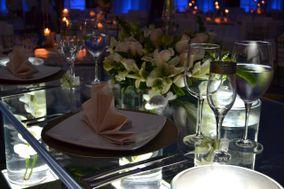 Mesa de novios de acrílico boda