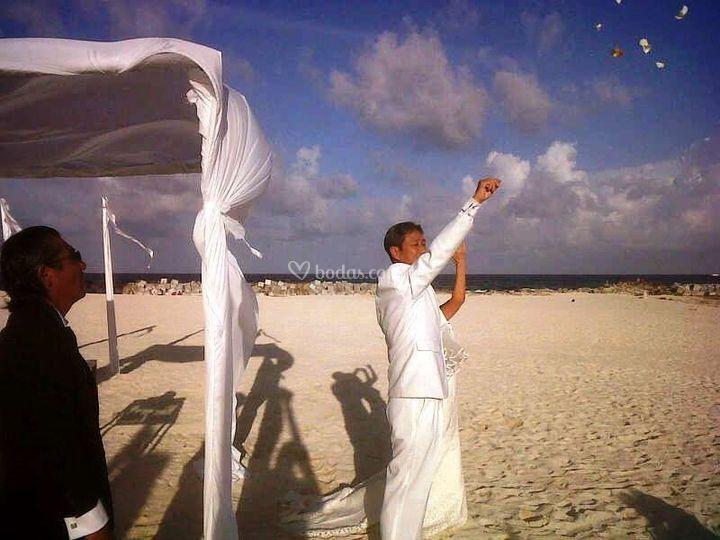 Ceremonia Pétalos