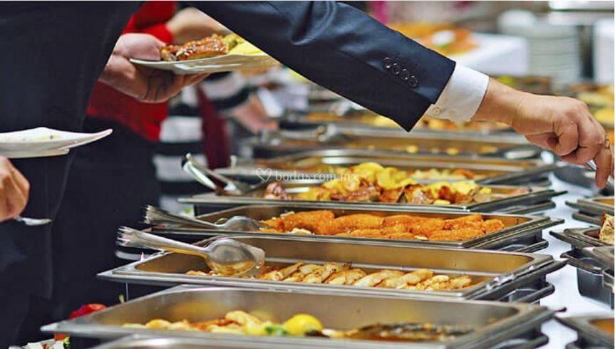 Un gran banquete para su boda
