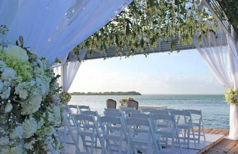 Weddings Cancún Marina