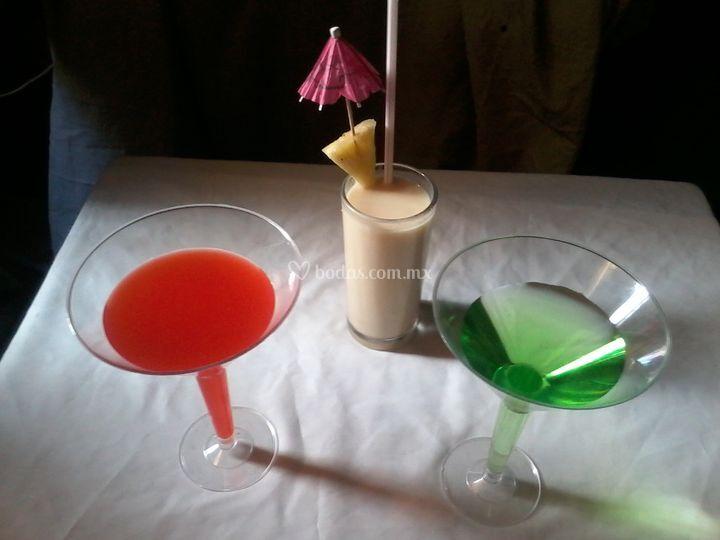 Piña colada y martin`s