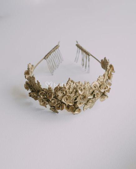 Corona de porcelana fría
