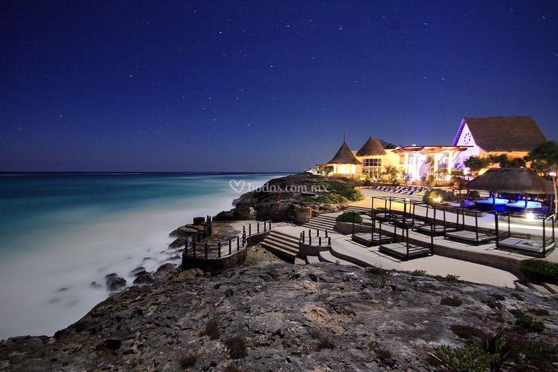Vista hotel noche
