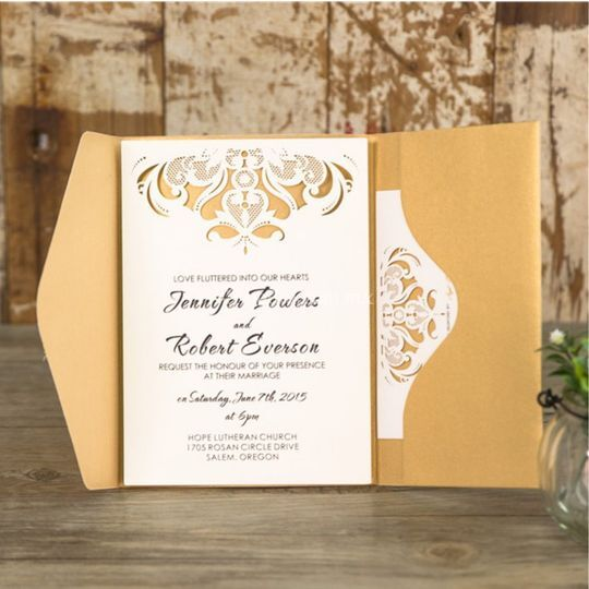 Flourish Fold de Exclusive Events by Addy