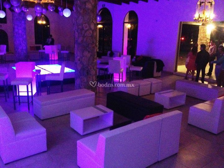 Evento tipo lounge