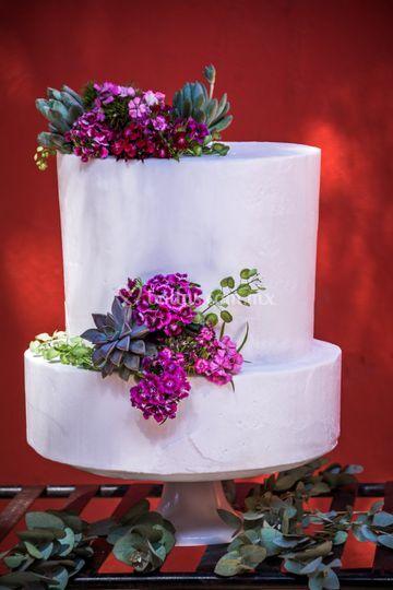Pastel betún soho cake