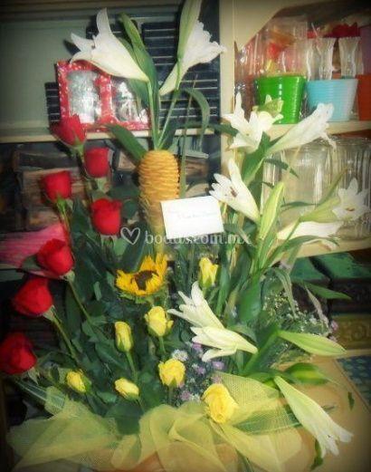 Flores para un gran acontecimiento