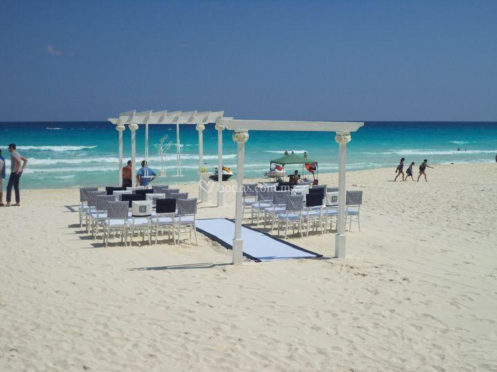 Playa del hard rock cancún