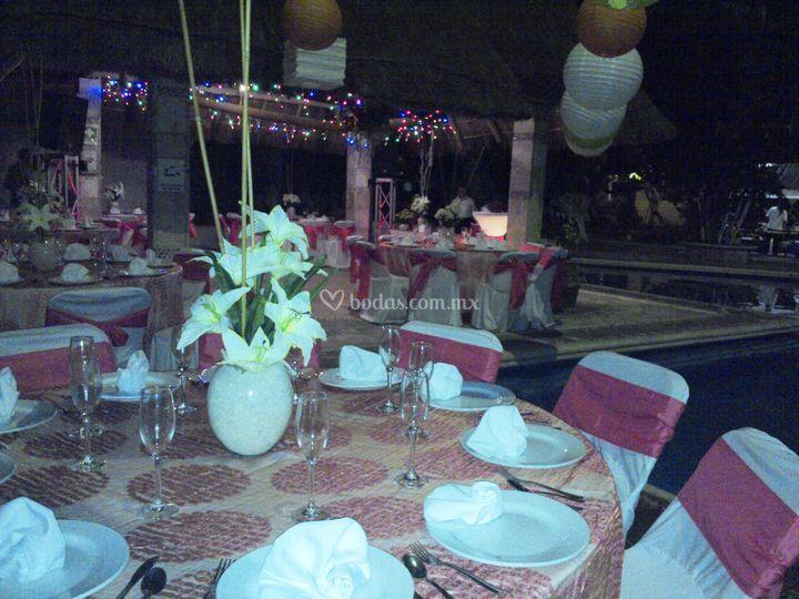 Centros de mesas