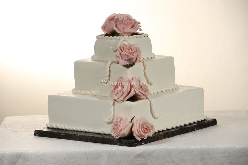 Pastel para la boda