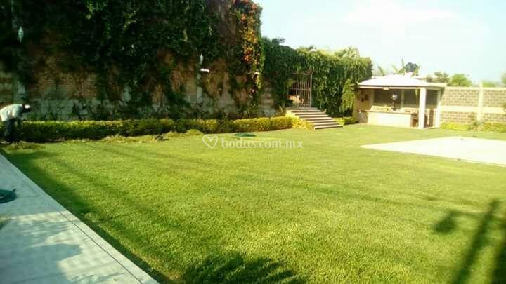 Jardín capacidad hasta 300 pax