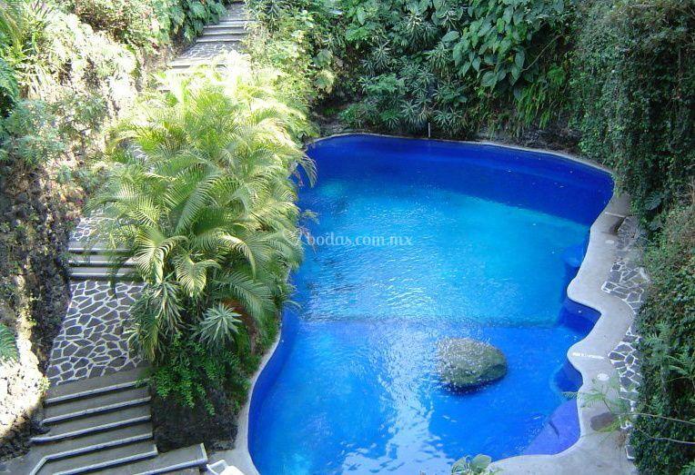 Hotel Jacarandas Cuernavaca Alberca