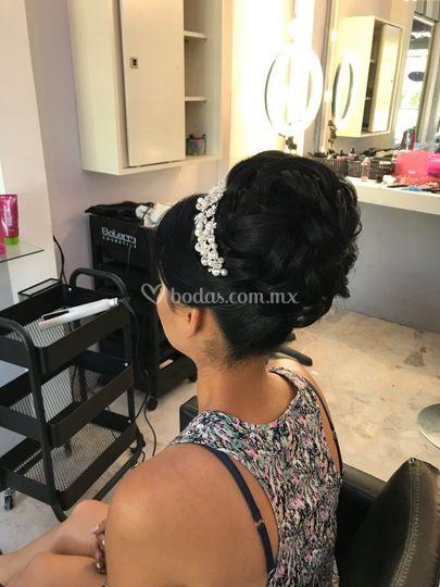 Peinado novia