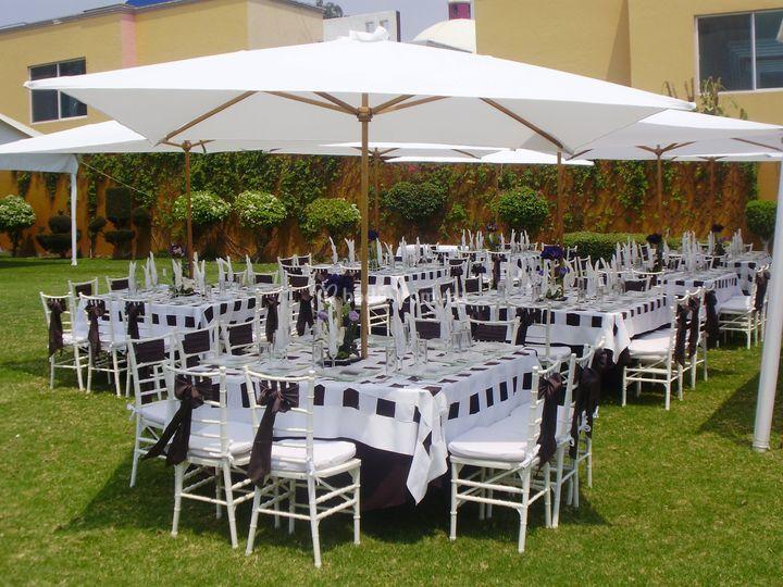 Hotel quinta loriffe for Sombrillas de jardin
