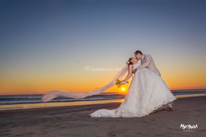Trash the dress Ana y Marcos