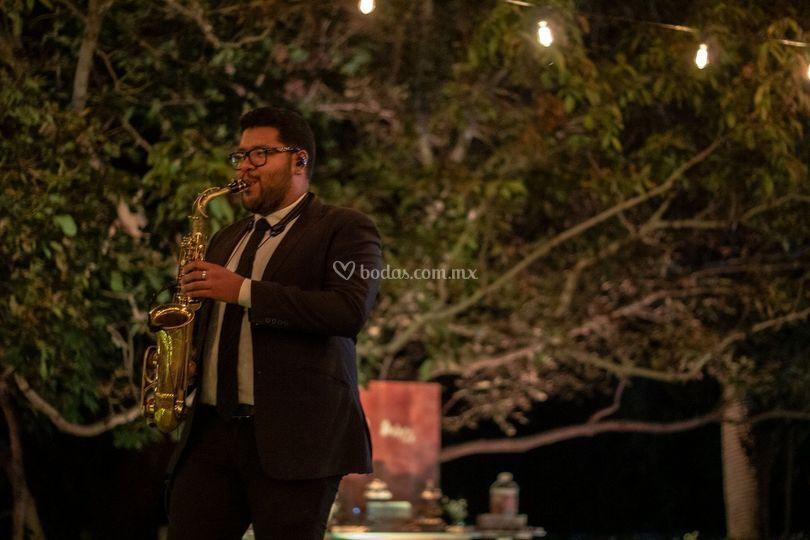 Saxofonista Durango
