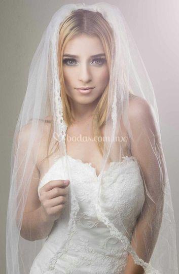Maquillaje para novia de noche