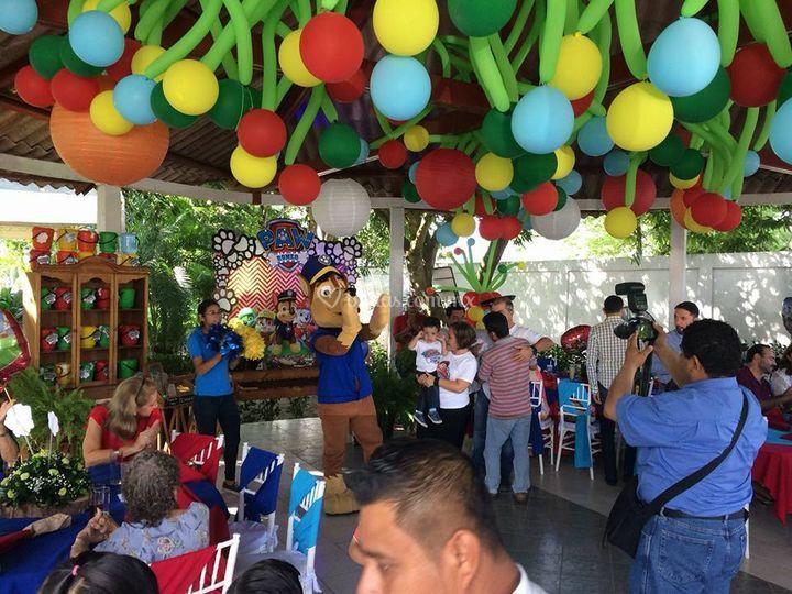 Fiesta tematica pawpatrol