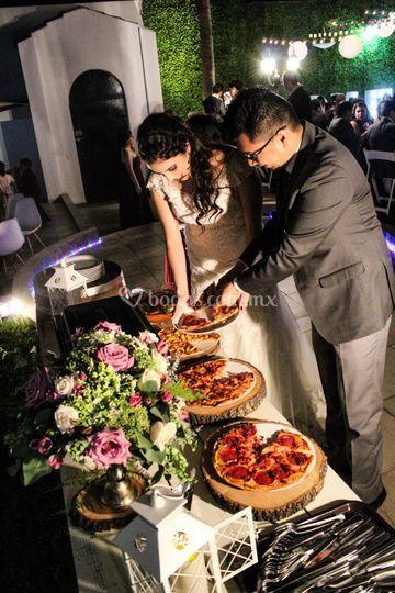 Buffet de pizzas & pasta