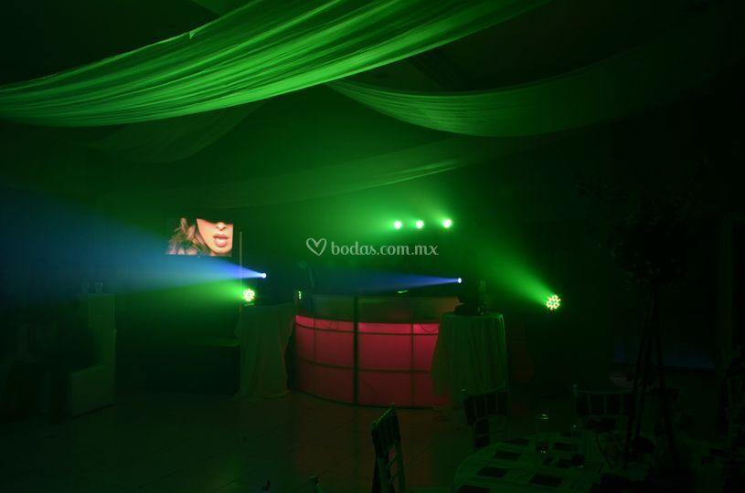 Audio e iluminacion