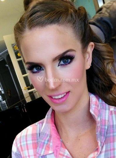 Maquillaje Aline Padilla