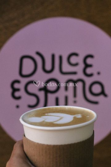 Barra de bebidas de café