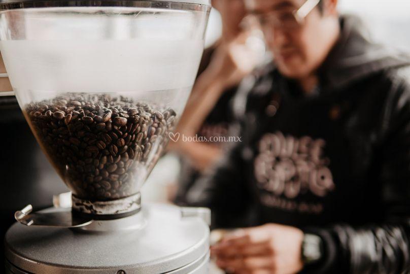 Cafe recién molido