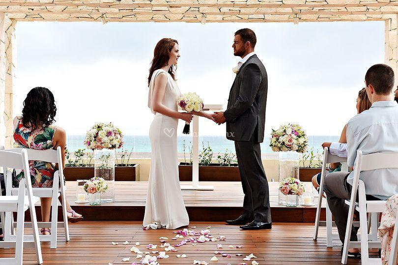 Sky wedding