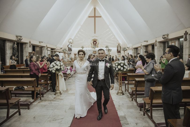 A y A, día de bodas