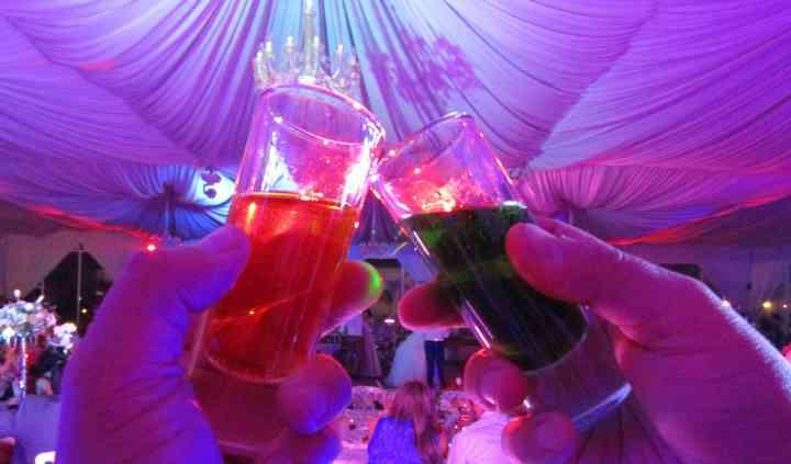 Shots en boda