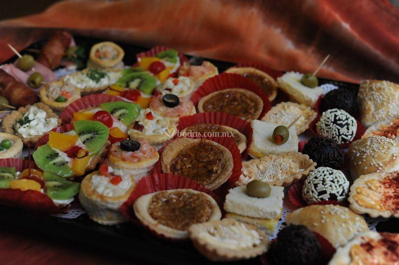 Bocadillos dulces y salados