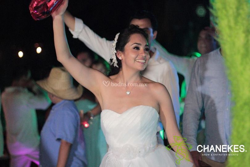 Su fiesta de boda