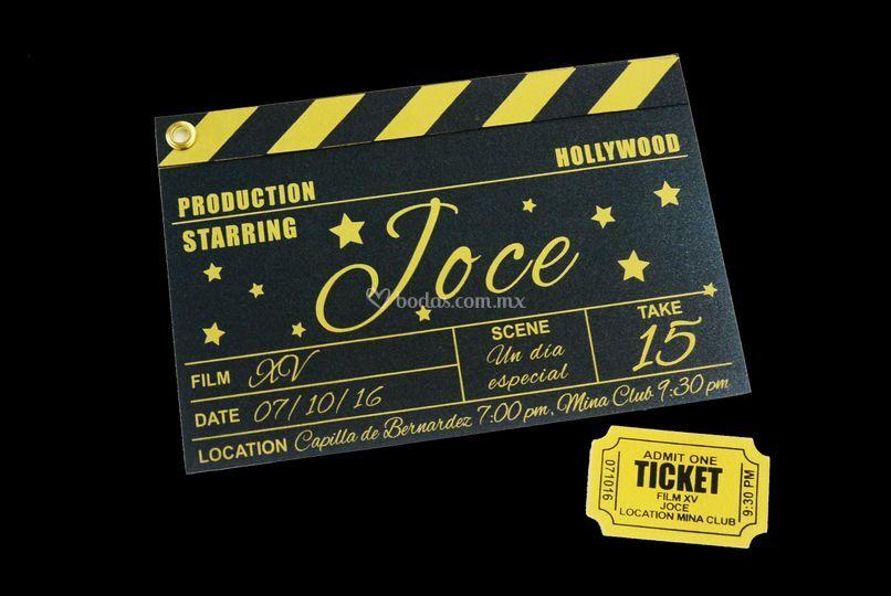 Invitación de cine