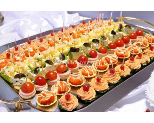 G h catering - Variedad de canapes frios ...